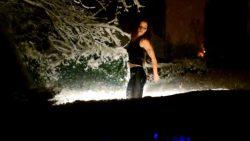 Cold winternight, but hot sexy dance!