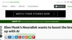 New on place: Neuralink from Elon Musk