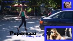 Paparazzi following NiNA