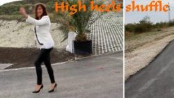 Video: High heels shuffle by Yo