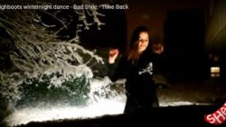 Cold winter & hot winter dance