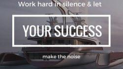 Work hard ..